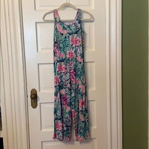 Lilly Pulitzer girls jumpsuit size L
